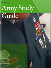 Army Study Guide covering Leadership and Counseling iBook Cover
