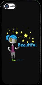 Beautiful Stars, LAJADE.com iPhone Case