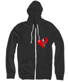 LAJADE Big Heart Hoodie - Available at LAJADE.com